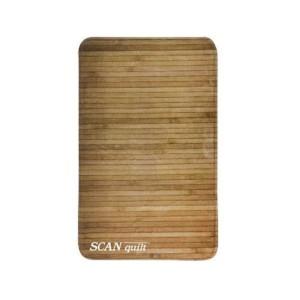 SCANquilt předložka WOOD bambus hnědá 50 x 80 cm