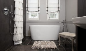 Koupelnová předložka dodá vaší koupelně pohodlí - inspirace od studia IL BAGNO