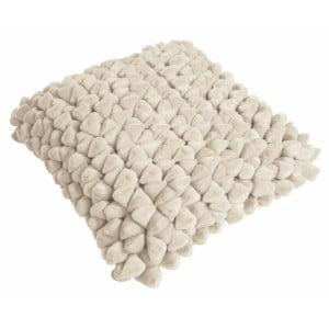 Béžový polštář ZicZac Pebble, 45 x 45 cm