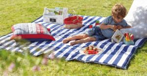 Pikniková deka - ilustrační obrázek, zdorj