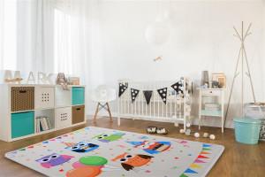 Podlasiak Dětský koberec SOFT OWL PARTY 120x170 cm
