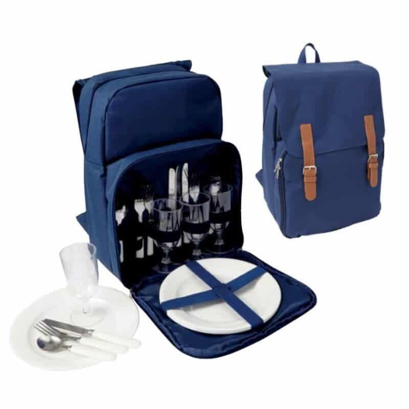 Rekl Piknikový batoh NOLAN pro 4 osoby - modrý
