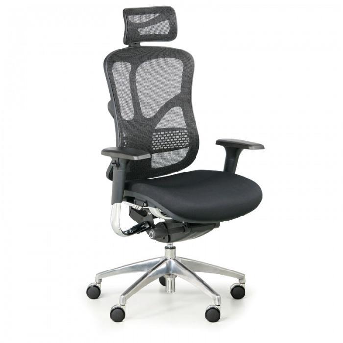 B2B Partner Multifunkční kancelářská židle WINSTON AB, černá