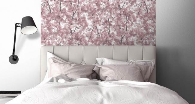 Vliesové tapety na zeď Home L33103, stromy růžové, rozměr 10,05 m x 0,53 m, Ugépa