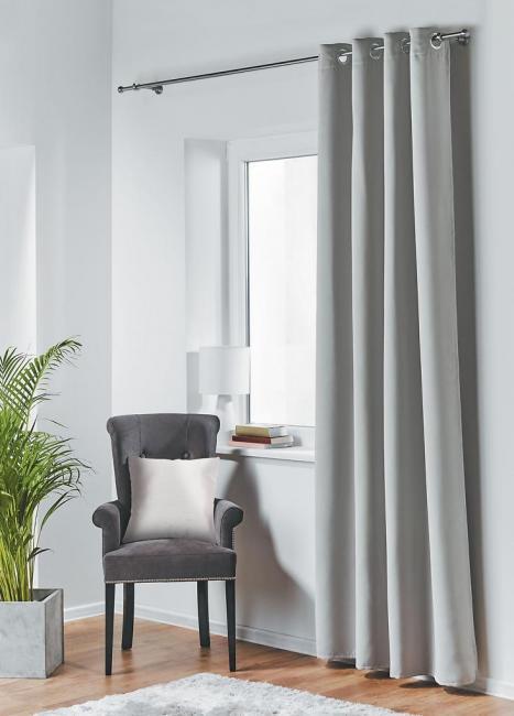 Dekorační závěs zatemňující BLACKOUT 140x245 cm, světle šedá, MyBestHome