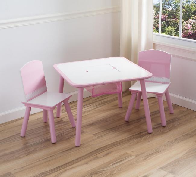 Dětský stolek se židličkami