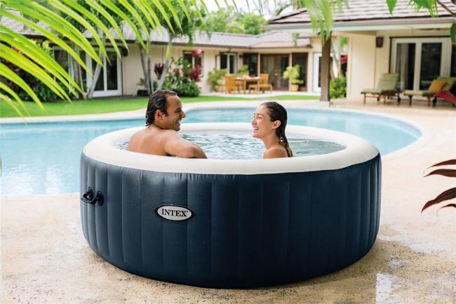 Mobilní vířivý bazén MARIMEX PURE SPA BLUE