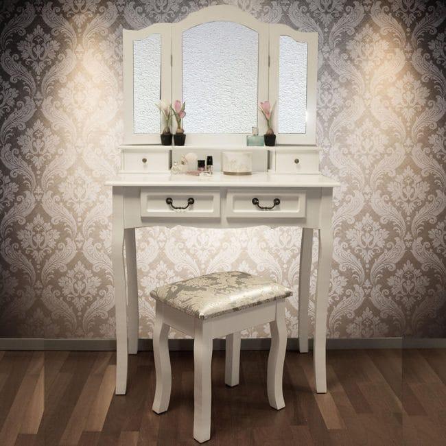 Toaletní stolek se stoličkou Venezia