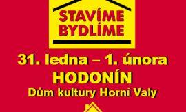 """Pozvánka na stavební výstavu """"Stavíme bydlíme"""" v Hodoníně"""